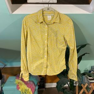 GAP Button Down Long Sleeved Blouse